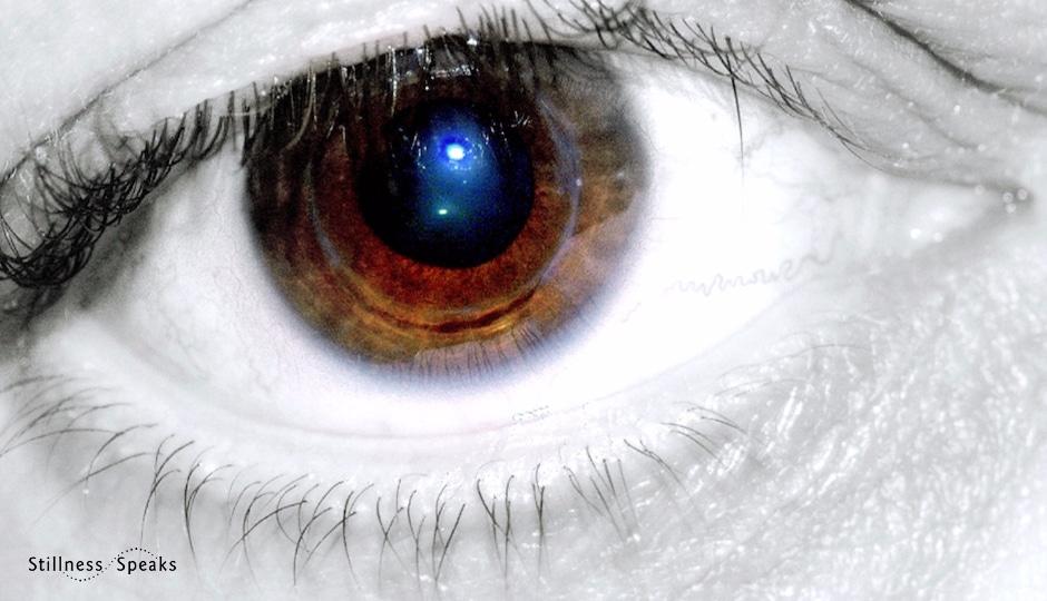 Universe in eye