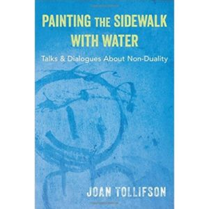 Painting Sidewalk Joan Tollifson