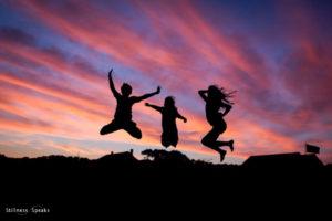emptiness vibrant joyful life