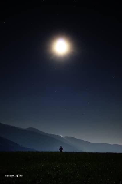 star dust, night
