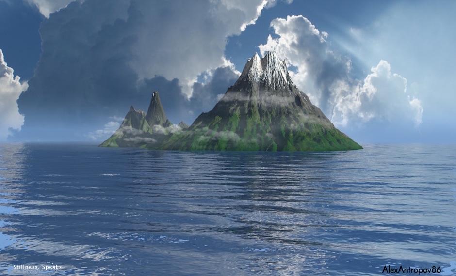 island, awakening, realization