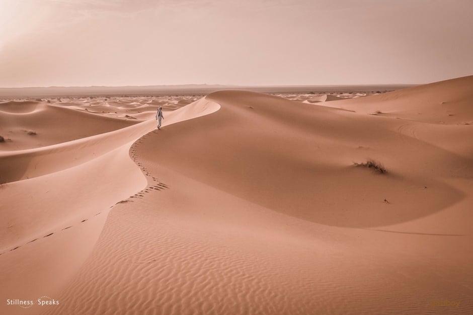 non-dualism, desert, despair