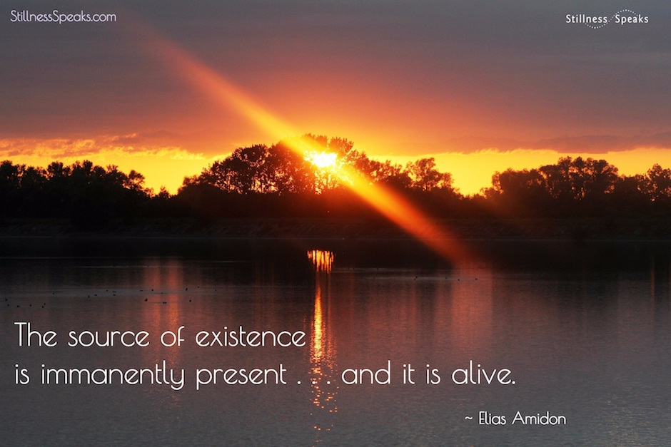 presence, existence, alive