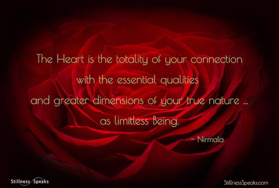nirmala, heart, living