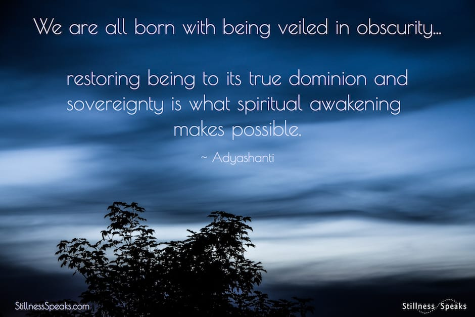 obscurity, being, awakening