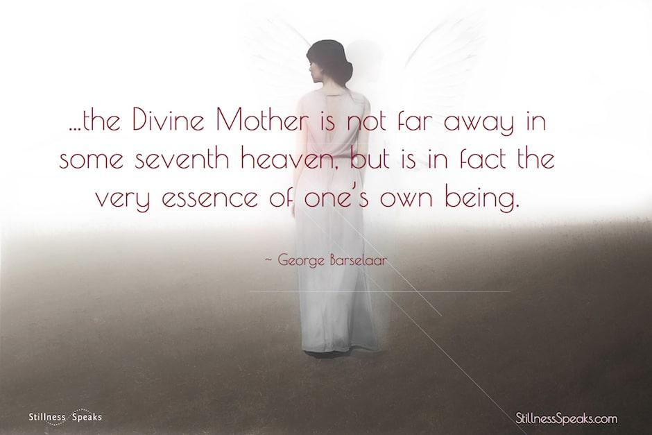 Divine mother, goddess