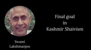 lakshmanjoo final goal kashmir shaivism