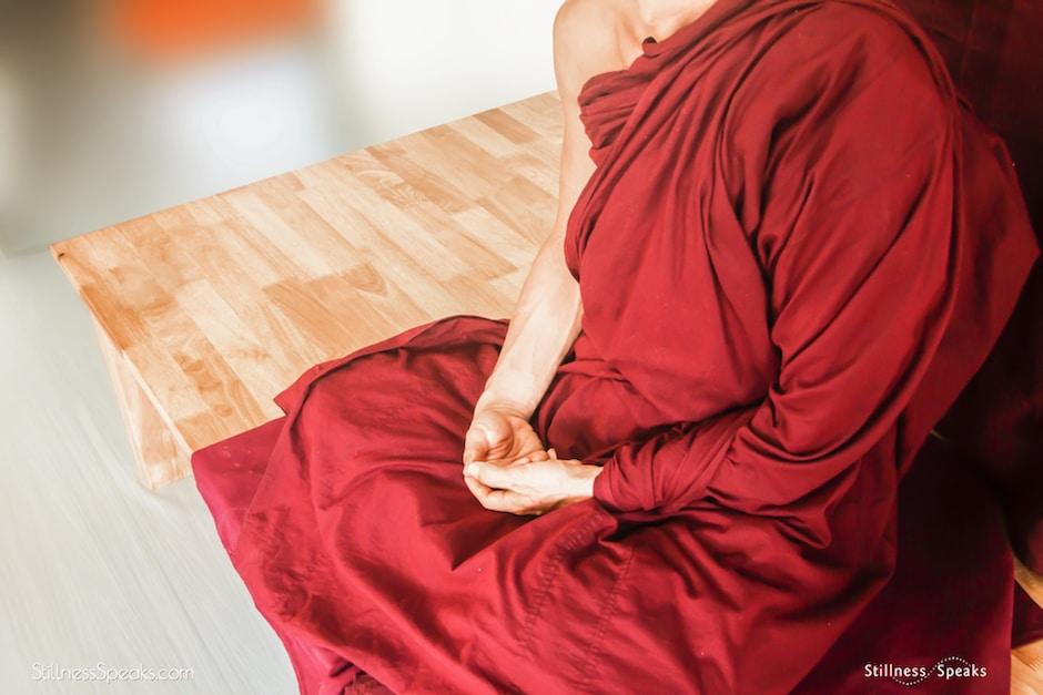 meditation, monastic, buddhism