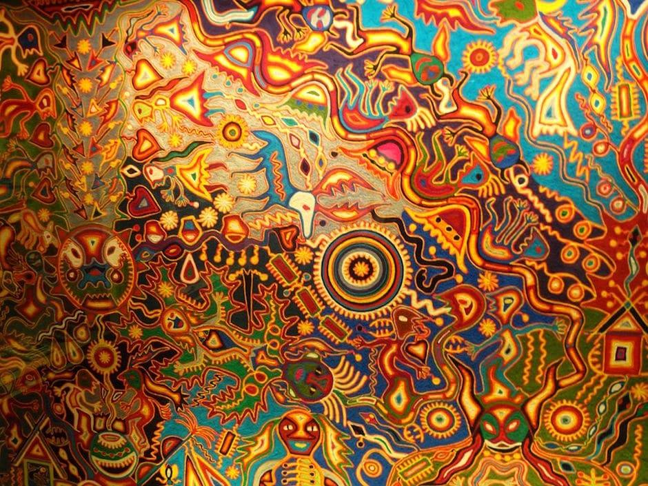 huichol art spirituality inspired