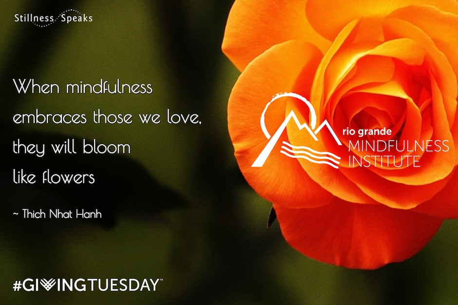 thich nhat hanh giving tuesday mindfulness