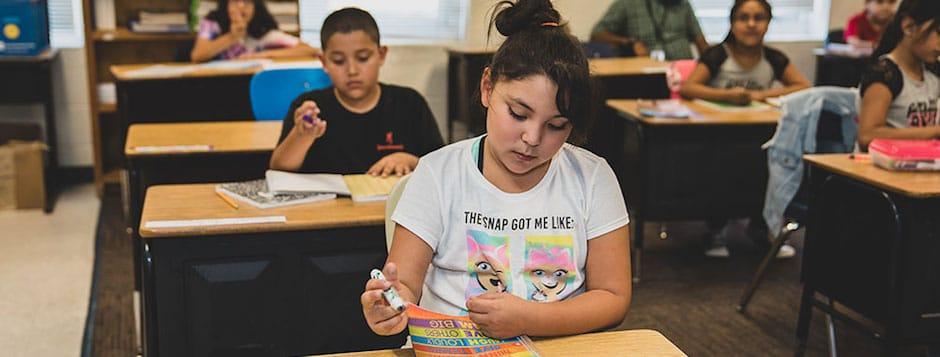 San Juan Elementary Students