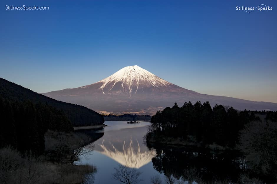 mt fuji stillness teach way chinook