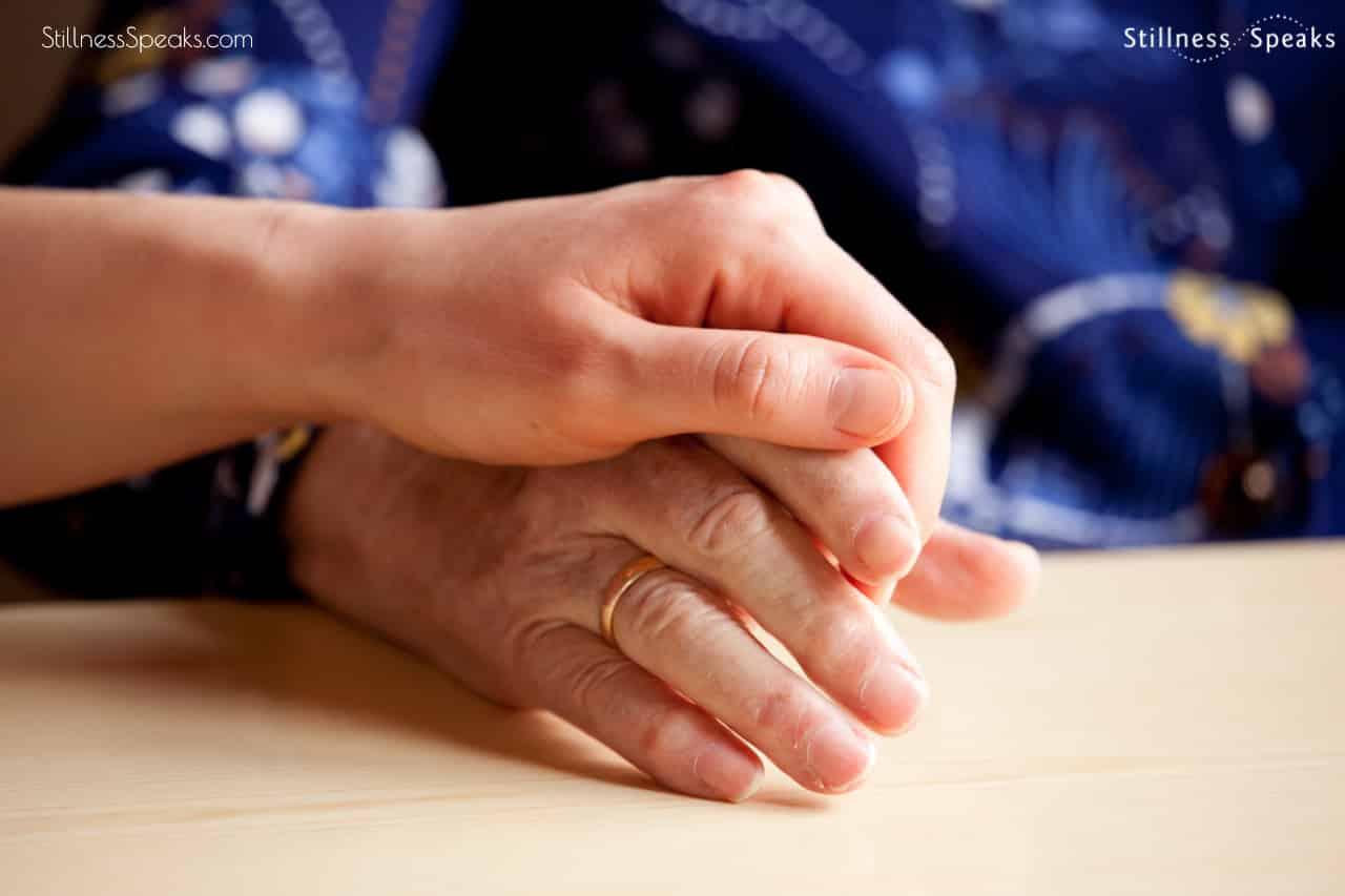 comforting hands forgiveness compassion not judgement