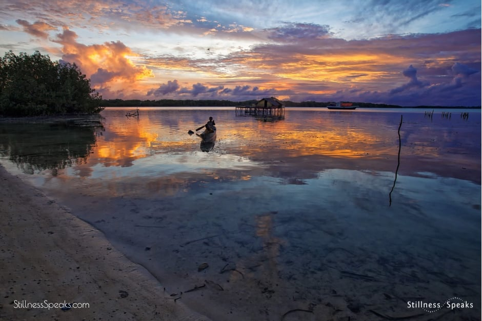 sunset lagoon awakening relaxation shukman