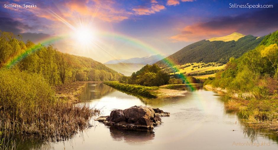 divine unknown awareness amidon sunset stunning landscape