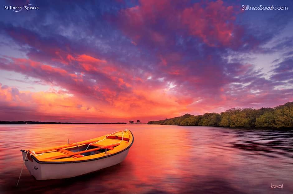 acceptance awareness amidon stunning sunrise