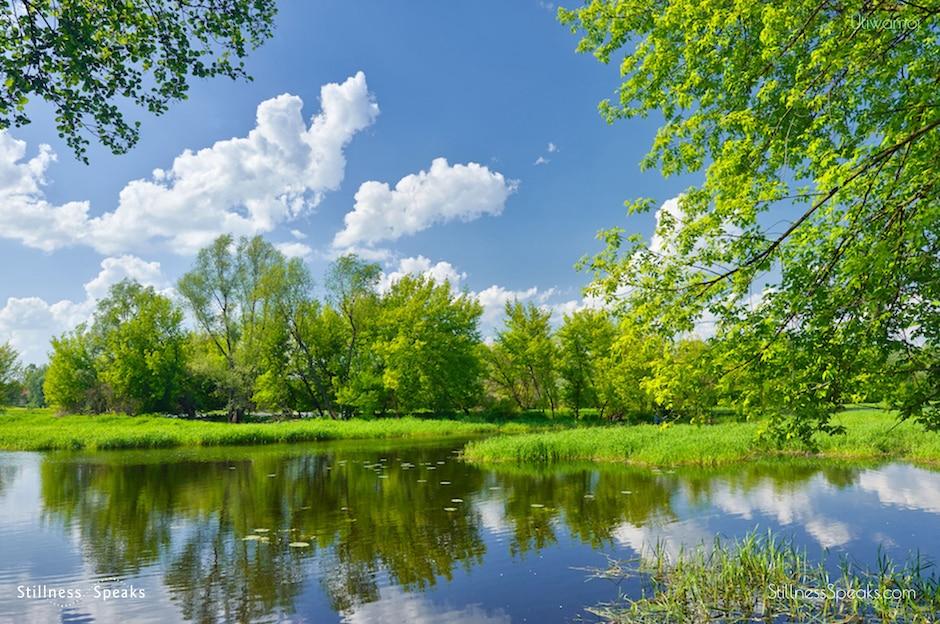 merton spring sky clouds stillnesses