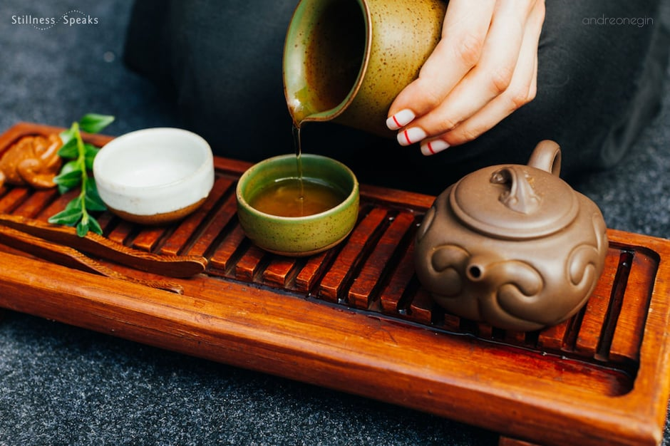 meditation being present tea ceremony tollifson