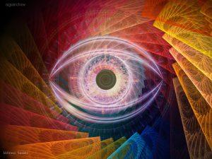 oneness nirmala fractal eye