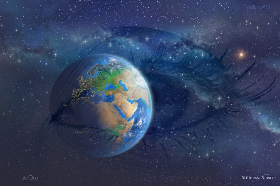 composite eye earth space awareness spira