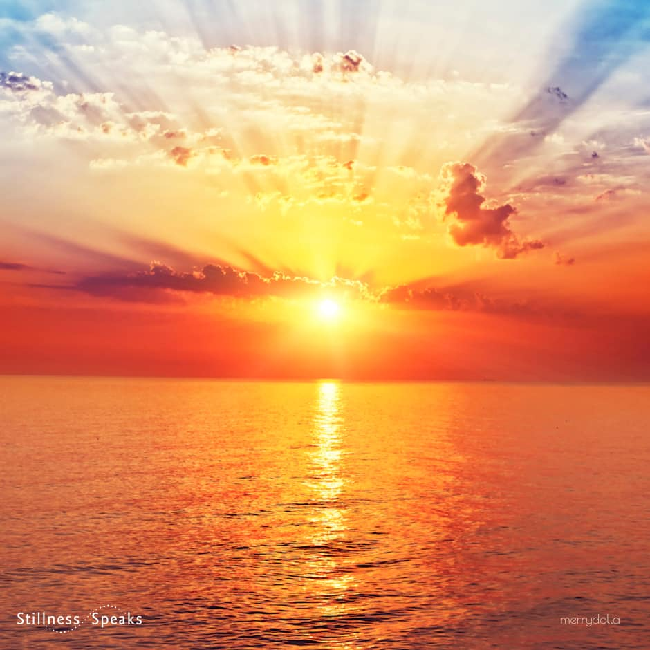 sunrise laughing dawn rumi