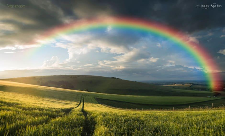 countryside sunset realize world filled god harvey