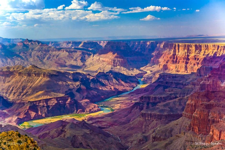 grand canyon present moment bridge eternity lucille