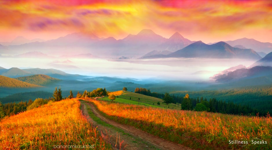 sunrise fields light awake hafiz