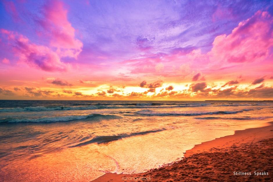 ocean sunrise merton