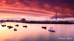 sunset boatyard quiet shukman