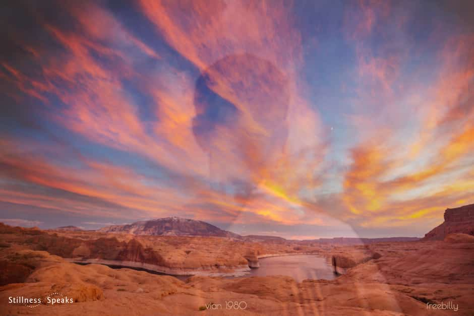 sunset stillness light awakening amoda