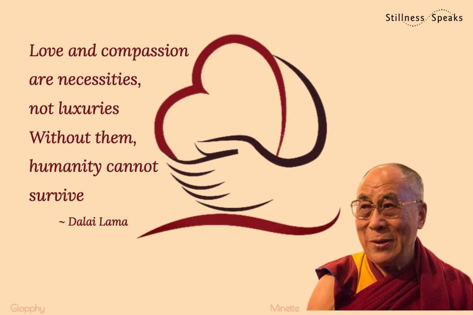 love compassion dalai lama