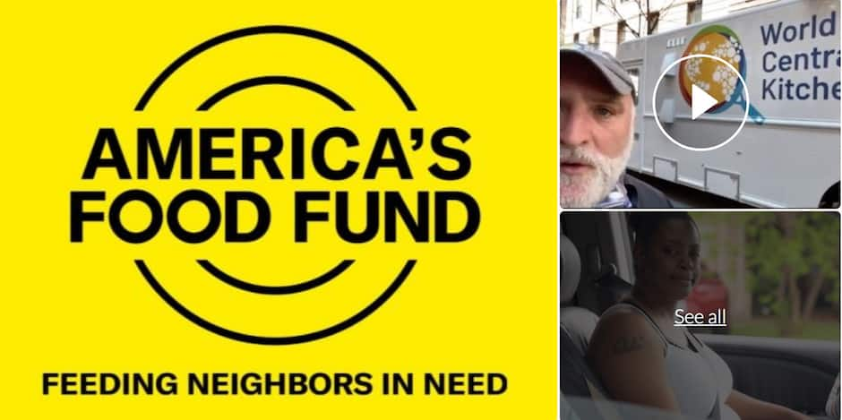 America's Food Fund - Go Fund Me