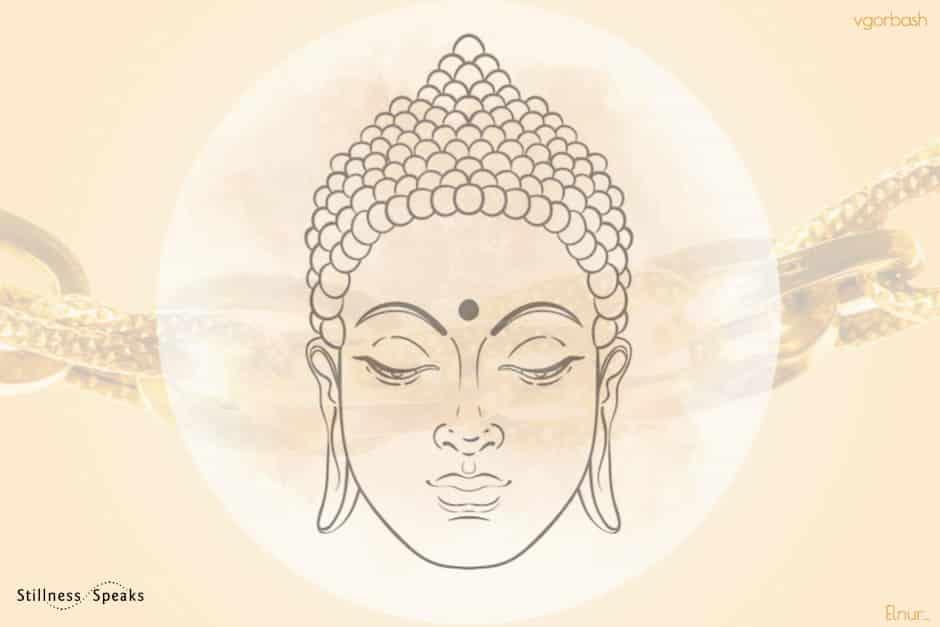 golden chain buddha