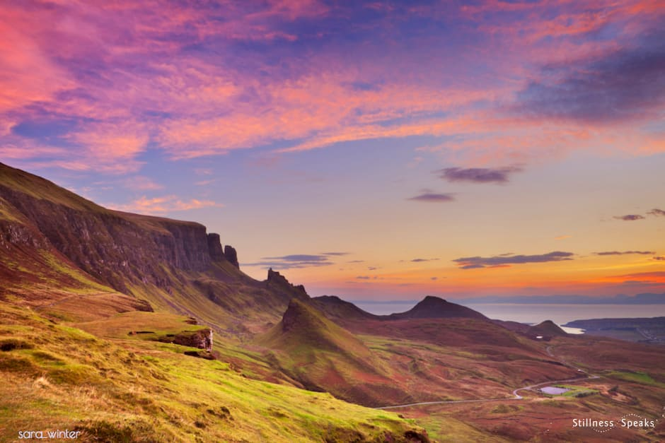 moments stillness majestic sunrise amoda