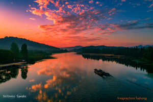 sunset silence roars meet me here adyashanti