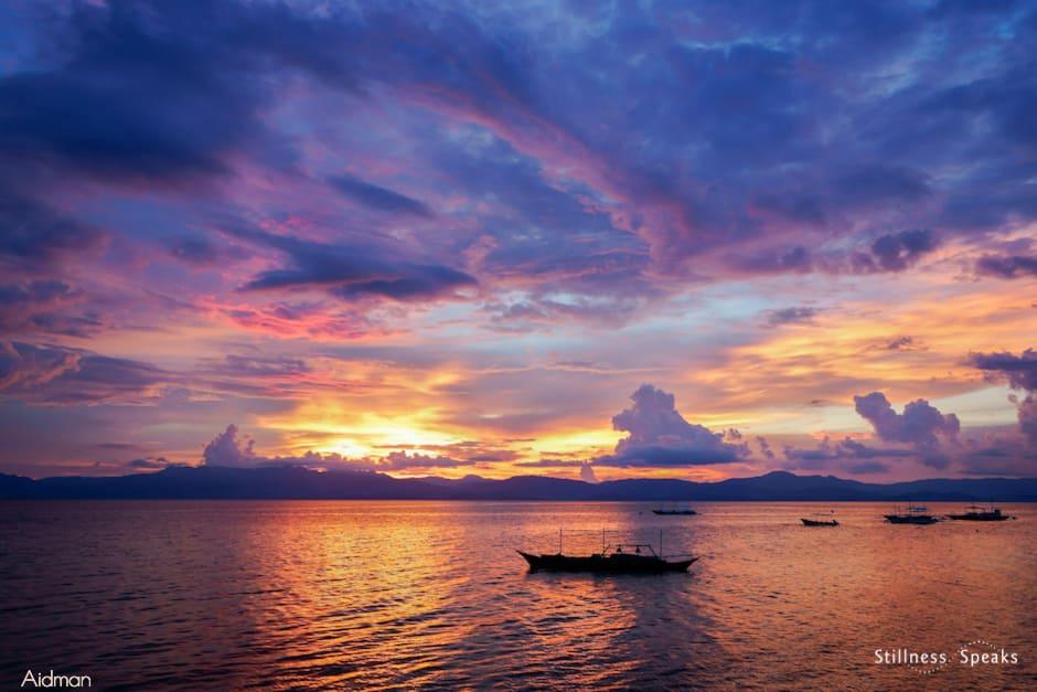sunset light your way symeon