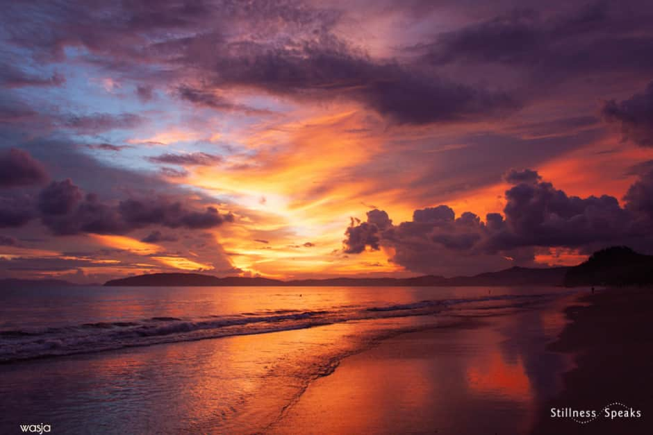 sunset ocean your presence symeon