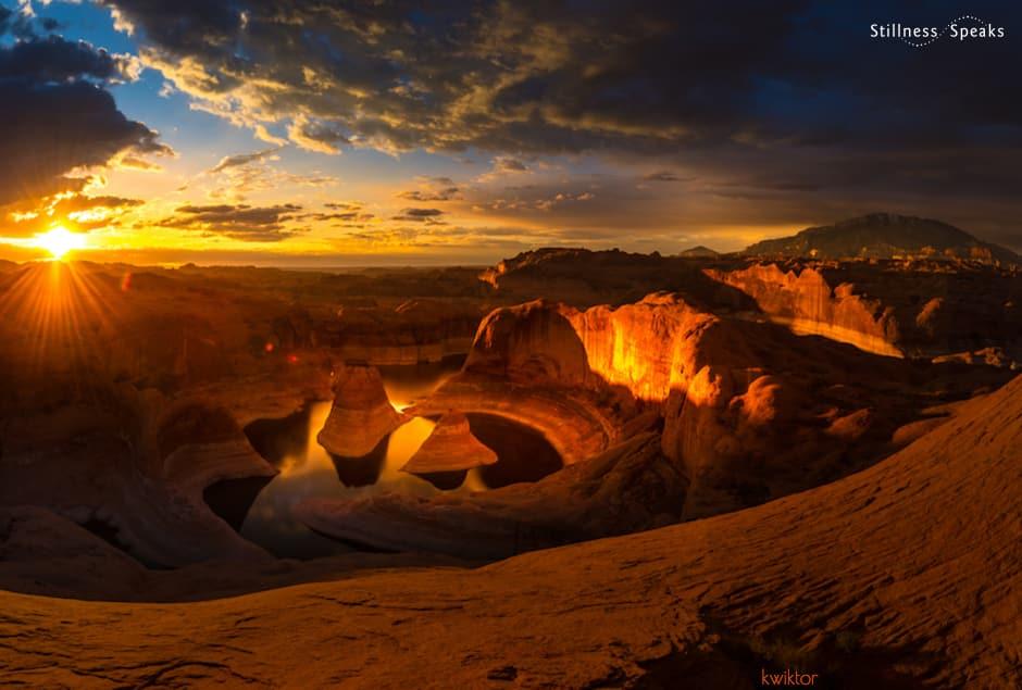 sunrise reflection canyon wonder meister eckhart