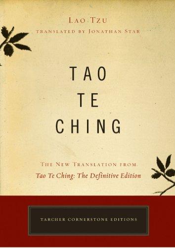 Tao Te Ching Lao Tzu Translated by Jonathan Star