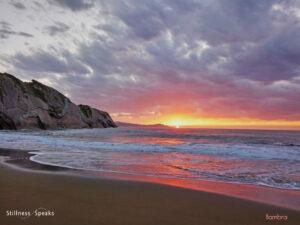 wave whole ocean sunset movement tollifson