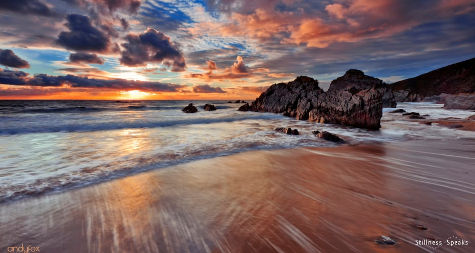 cornish coastline praise this day adyashanti