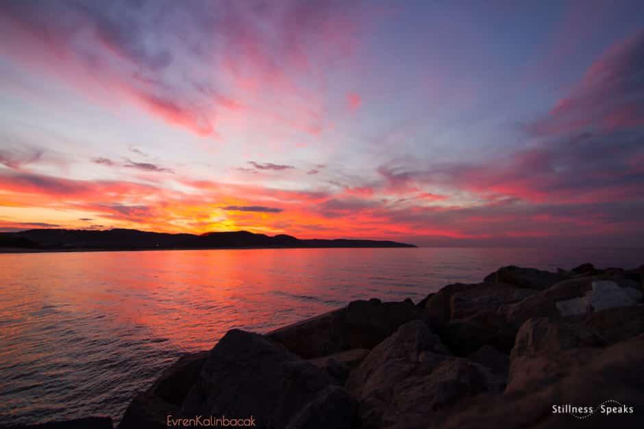 be still tzu sunset