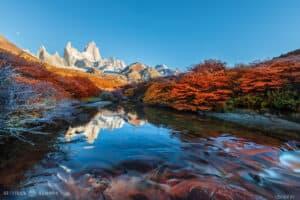 stillness finley fitz roy mountain