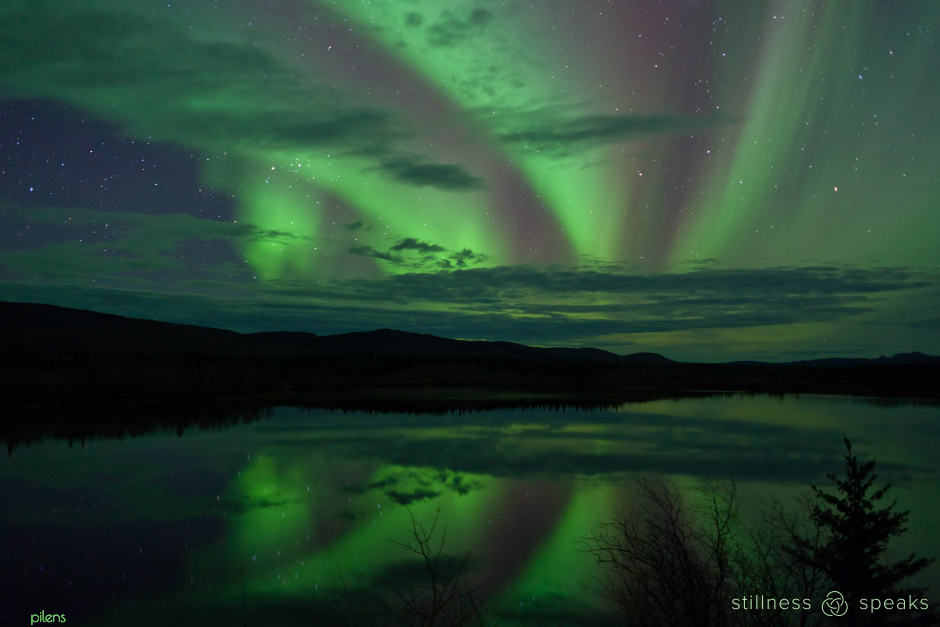 root your own soul northern lights divine lights rumi