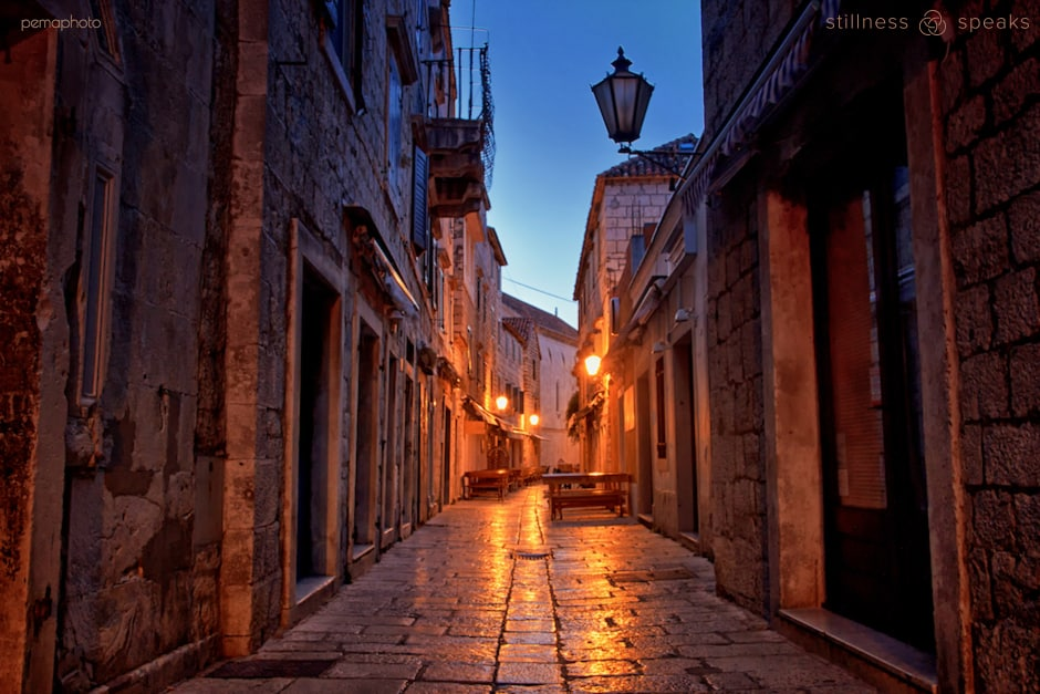 old street silence always here amoda