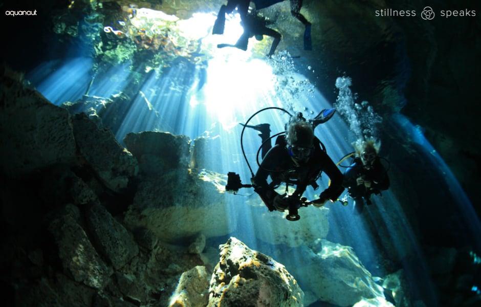inquiry cave diving liber almaas